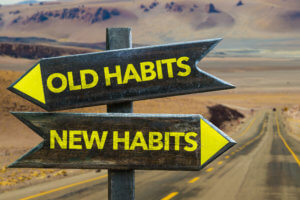 Resolutions and habits are hard to change