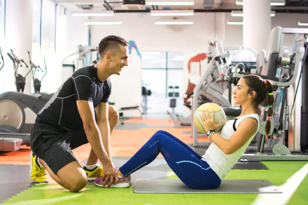 Work with a personal trainer with a Total Health Membership at MoveMend
