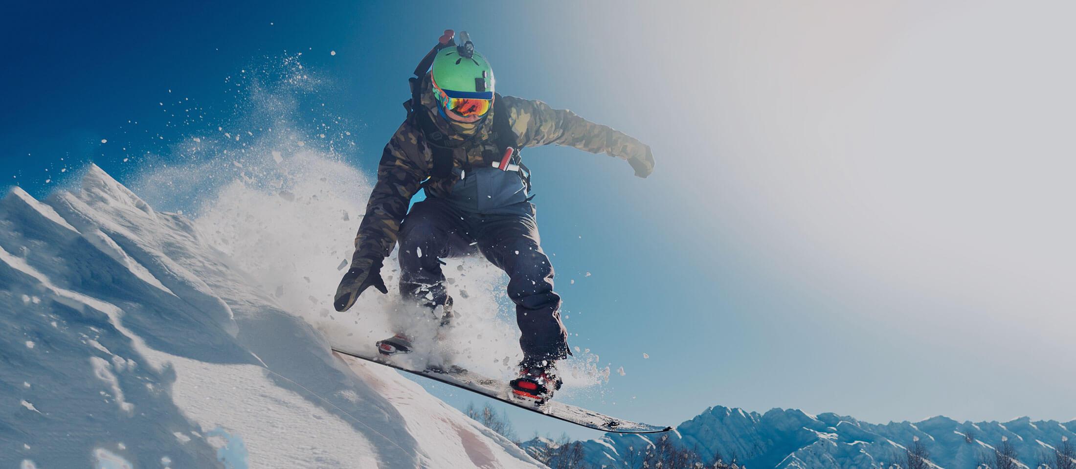 Home Page Snowboarder Slide